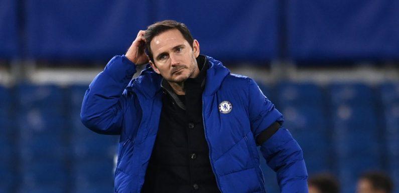 Chelsea's five-man 'shortlist' to replace Lampard includes Premier League duo