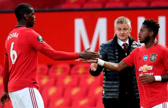 Fred makes plea to Pogba over Man Utd future