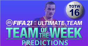 FIFA 21 TOTW 16 predictions featuring Antoine Griezmann and Memphis Depay
