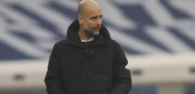 Guardiola happy for Man City to go under the radar in Premier League title race