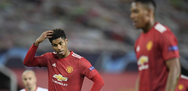 """Marcus Rashford and Anthony Martial told they are """"nowhere near"""" full potential"""