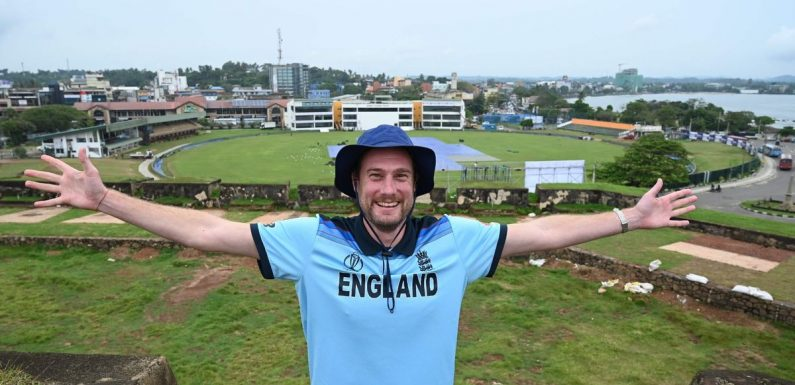 England fan stayed in Sri Lanka for 10 months to see behind closed doors Test