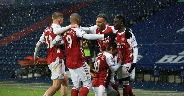 Premier League highlights from weekend action as Arsenal continue revival
