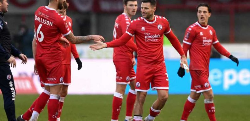 Crawley Town shock Leeds United with dominant victory to reach FA Cup fourth round