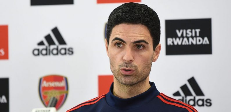 """Mikel Arteta says Mesut Ozil decision will be made """"in the next few days"""""""