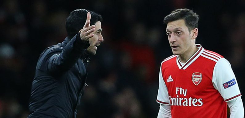 Mikel Arteta's strong declaration on Mesut Ozil's legacy ahead of Arsenal exit