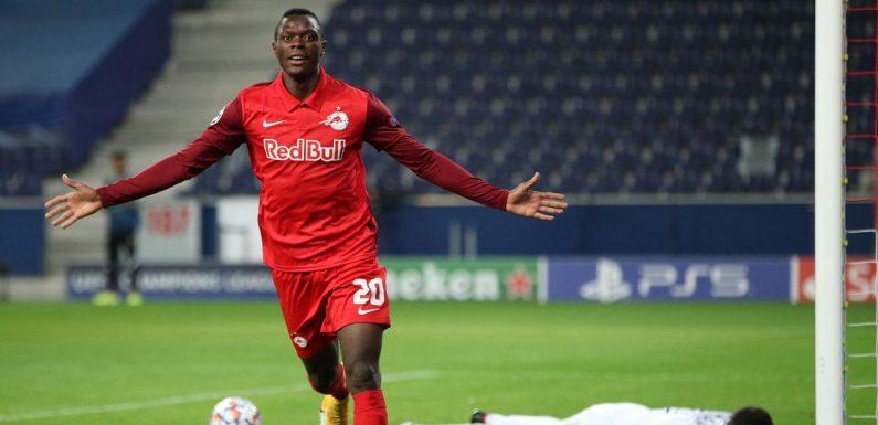 RB Salzburg star Daka fuels transfer links with bold Arsenal and Liverpool claim