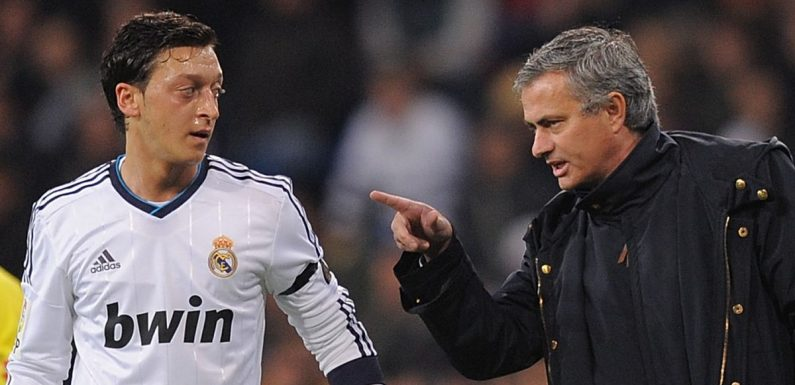 Mourinho's Ozil criticism brings back memories of infamous Real Madrid spat