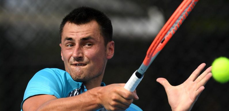 Tomic's desperate bid to revive career