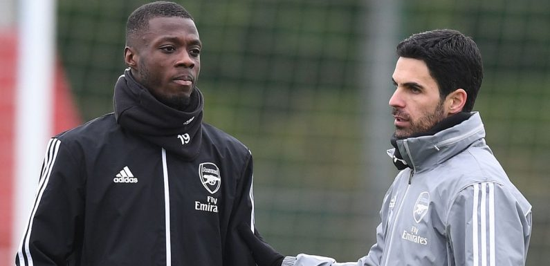 "Nicolas Pepe sent ""lazy"" warning as Arteta recalls Arsenal star for Newcastle"