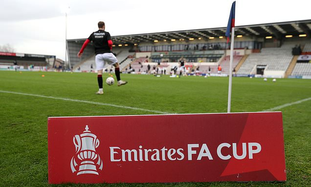 Clubs risk FORFEITING their place in the FA Cup amid coronavirus chaos