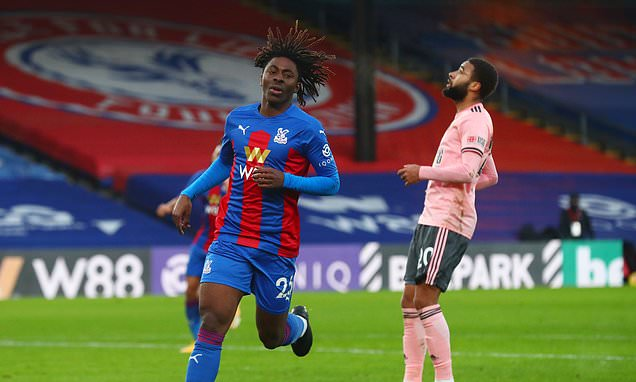 Crystal Palace ace Eze refuses to get carried away despite wonder goal