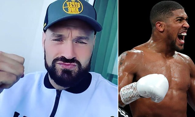 Tyson Fury insists Anthony Joshua's knockout claims are 'another lie'
