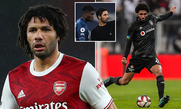 Arsenal's Mohamed Elneny is wanted on loan by Turkish side Besiktas