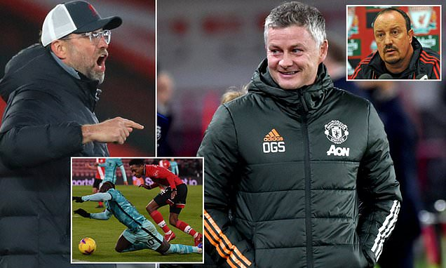 Solskjaer accuses Klopp of trying to influence refs after penalty rant