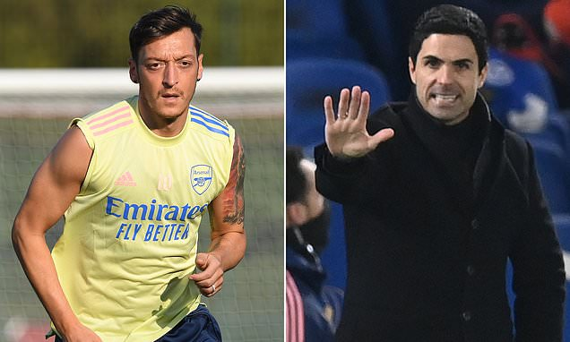 Ozil's legacy at Arsenal will NOT be tarnished, says Mikel Arteta