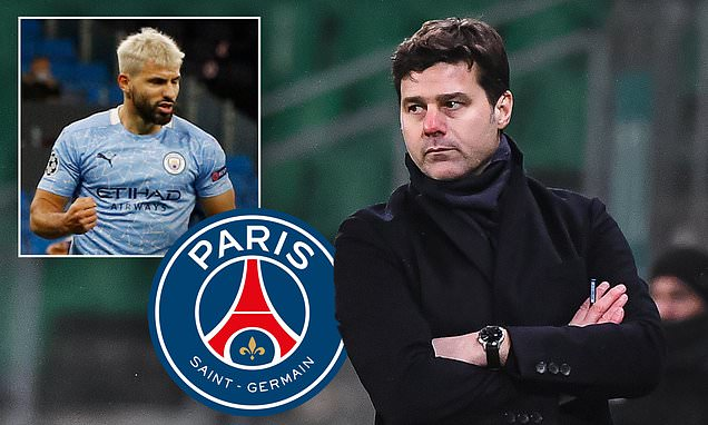 Pochettino 'targeting Aguero as first major signing' as new PSG boss
