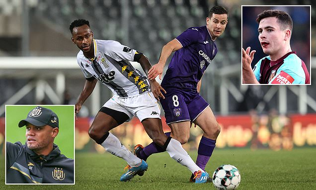 Josh Cullen is proving central to Anderlecht's hopes under Kompany