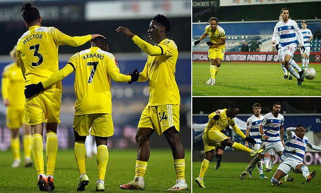 QPR 0-2 Fulham (AET): De Cordova-Reid and  Kebano strike in extra-time