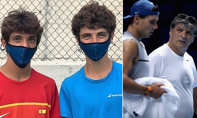 Rafael Nadal's teenage cousins notch their first professional wins