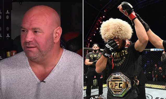 Dana White says he'll press Khabibfor 'one more fight' when they meet