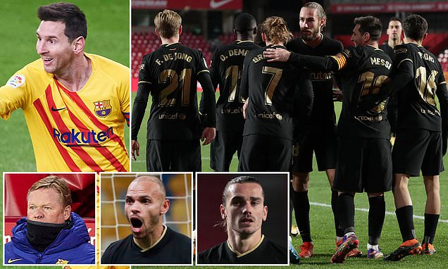 Barcelona are back on track after a disastrous start to the season