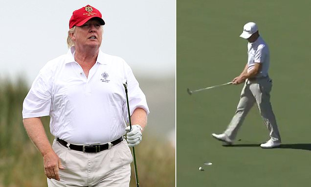 It was about time golf united to tell Trump he's no longer welcome