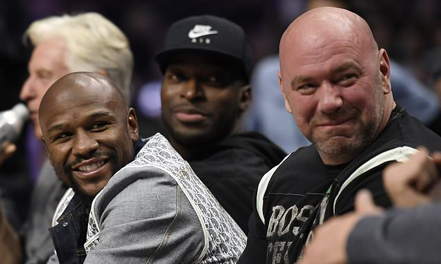 Dana White admits Floyd Mayweather ended due to Covid-19 pandemic
