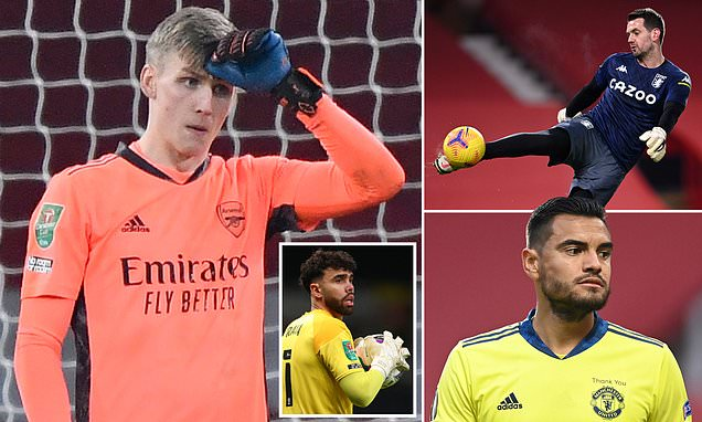 The goalkeepers Arsenal could sign after Runarsson's dreadful start
