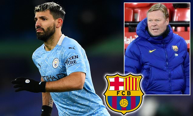 Barcelona 'target bringing in Sergio Aguero on a free transfer'