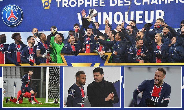 Poch lifts first ever trophy ELEVEN days after taking over at PSG