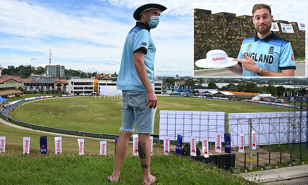 England cricket fan belts out 'Jerusalem' on Galle's iconic fort