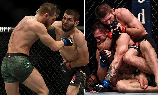 Conor McGregor accuses rival Khabib Nurmagomedov of 'scurrying away'
