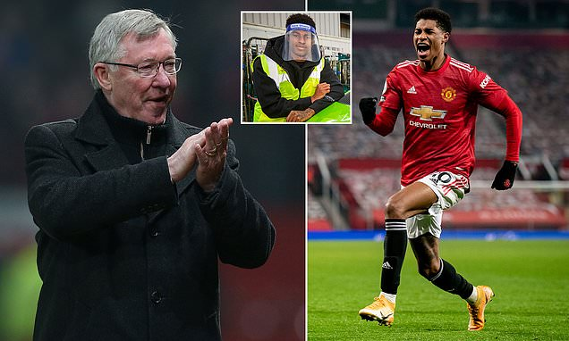Rashford reveals regret of not playing for Sir Alex  after award win
