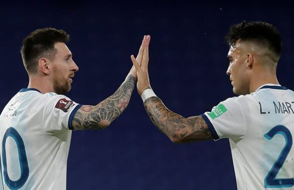 Martinez reveals 'it was a big dream' to play alongside Messi at Inter