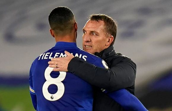 Brendan Rodgers plays down Leicester's Premier League title chances