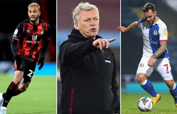 Moyes insists he's got backing of West Ham board to sign a striker