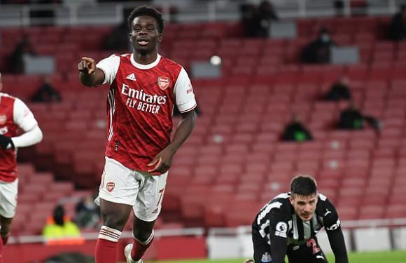 Lauren: Bukayo Saka has the 'potential to be a world-class player'