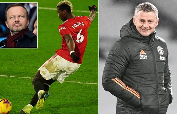 Paul Pogba and Man United put decision over star's future on hold