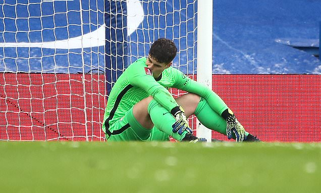 Kepa Arrizabalaga makes ANOTHER mistake in Chelsea's clash with Luton