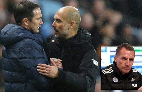 Pep Guardiola offers Frank Lampard dinner out after Chelsea sacking