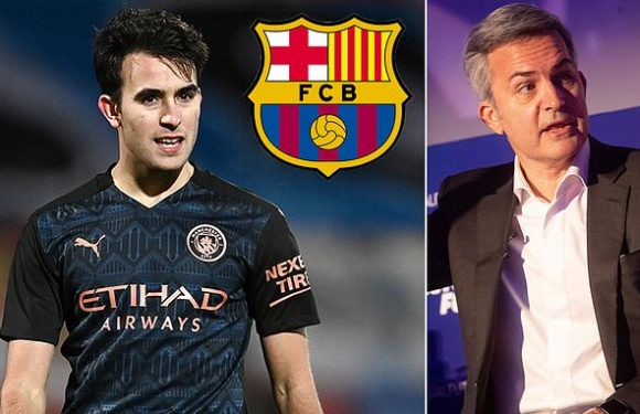 Eric Garcia 'ready not to be paid until end of the term' to join Barca