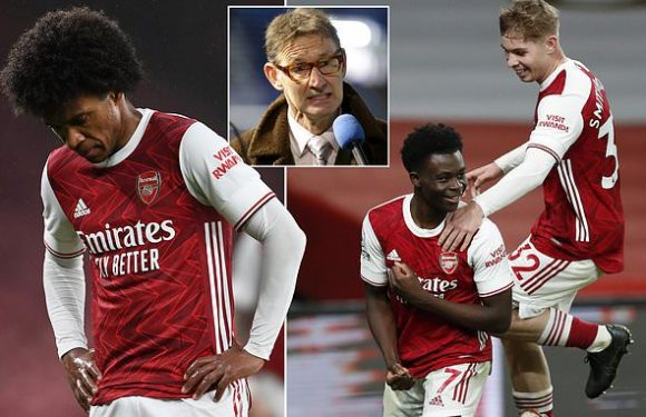 Arsenal legend Tony Adams blasts the club's decision to sign Willian