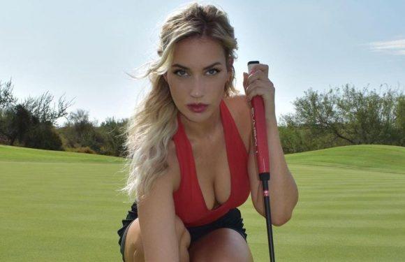 Paige Spiranac makes a 2021 pledge on wearing low-cut tops