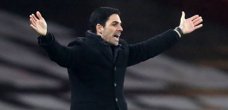 Mikel Arteta acknowledges Arsenal lacked 'quality' in attack during drab draw with Crystal Palace