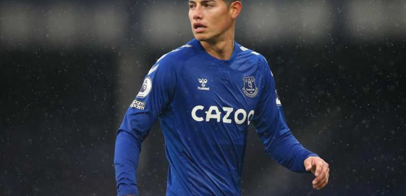 James Rodriguez chose Everton as he needed a club where he 'could be trusted'