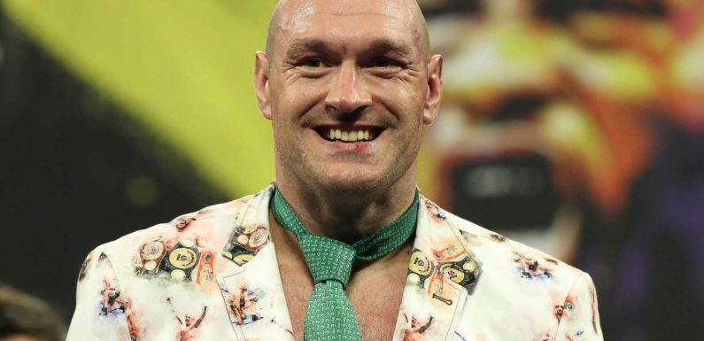 Tyson Fury says athletes 'deserve a million times more' for the sacrifices they make