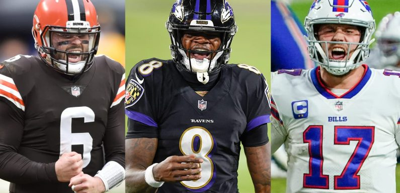 Josh Allen, Lamar Jackson or Baker Mayfield: Which 2018 NFL Draft QB will make the deepest playoff run?