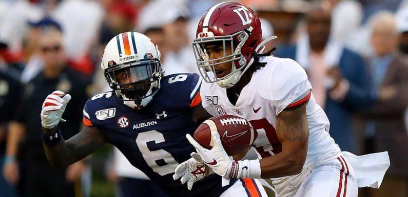 Jaylen Waddle injury status: Will Alabama receiver return to play in CFP championship?