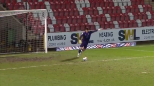 SEE IT: Newport County keeper scores from Narnia, sets new record